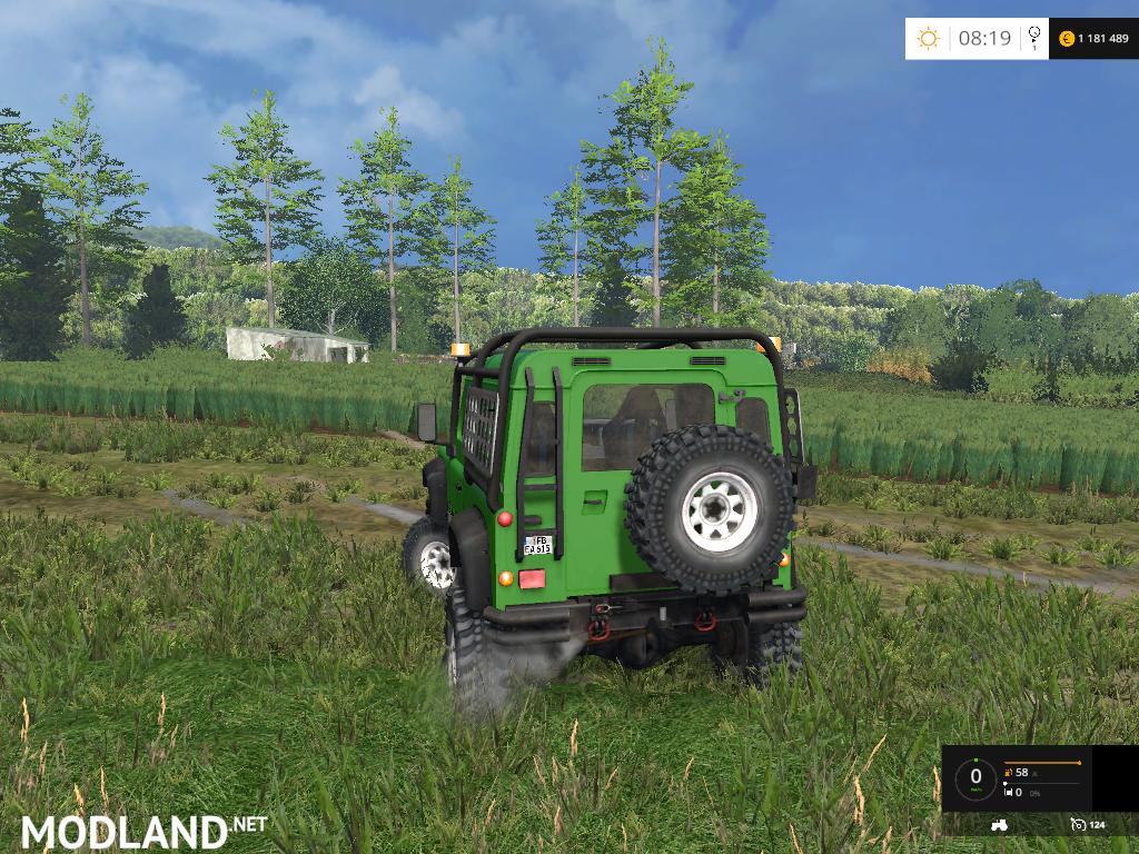 Land Rover Defender 90 Ea V 1 0 Mod For Farming Simulator