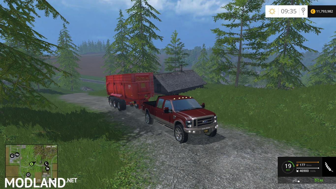 Ford f 250 king ranch mod for farming simulator 2015 15 fs ls 2015 mod