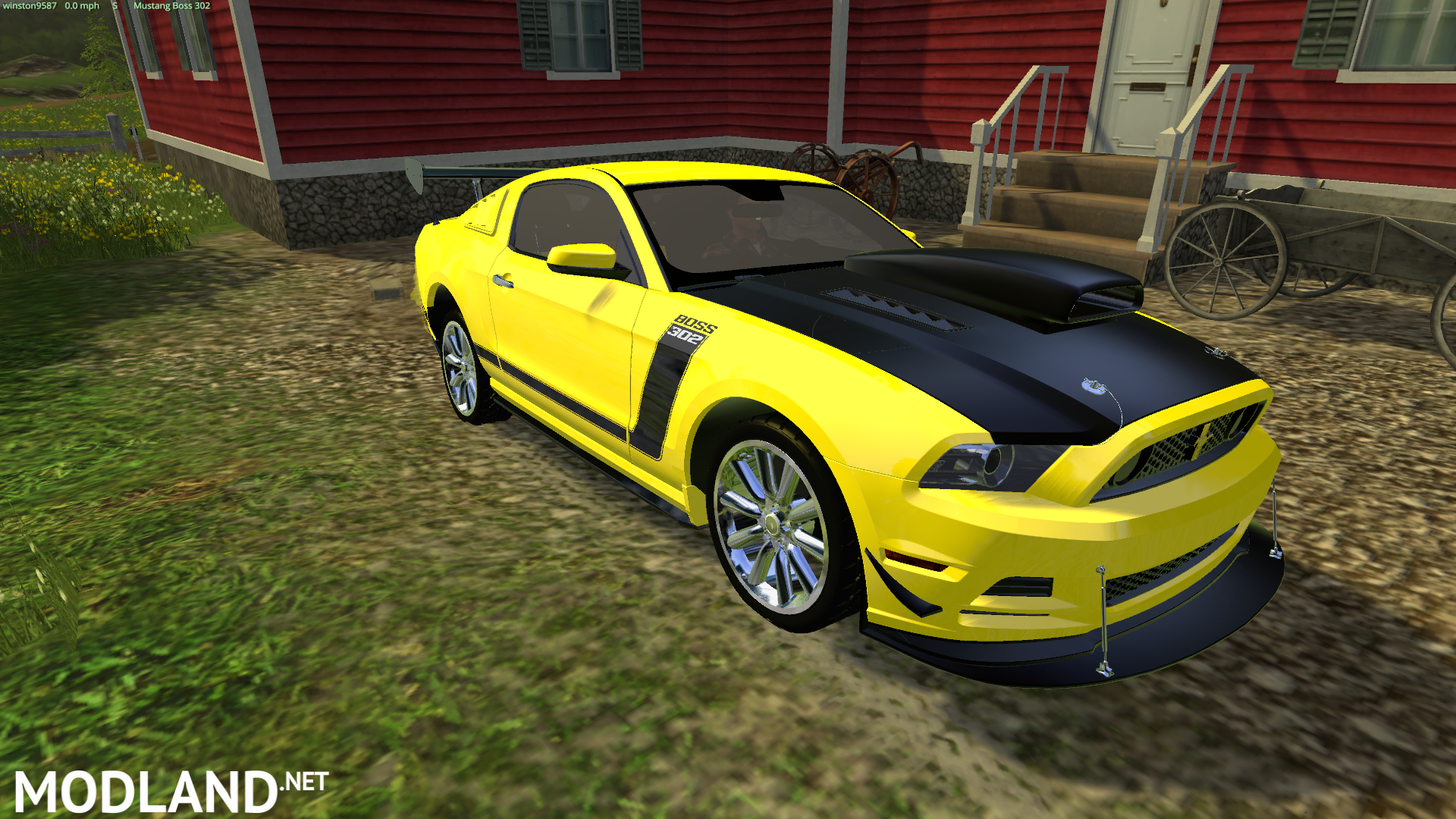 New Ford Flex Ford Mustang Boss302 mod for Farming Simulator 2015 / 15 ...