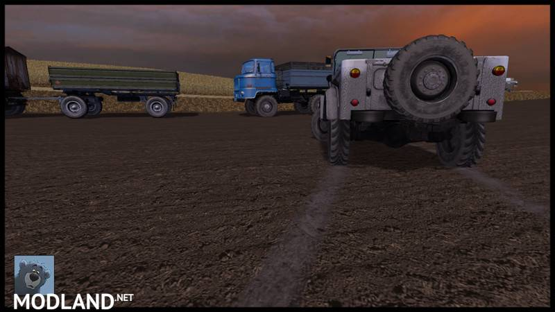 GAZ 69 V 1.0 Mod For Farming Simulator 2015 / 15