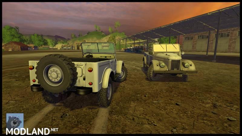 GAZ 69 V 1.0 Mod For Farming Simulator 2015 / 15