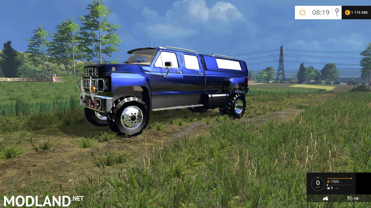 Ford F650 Blaze