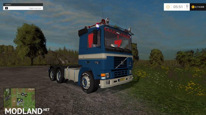 Volvo F12 6x4