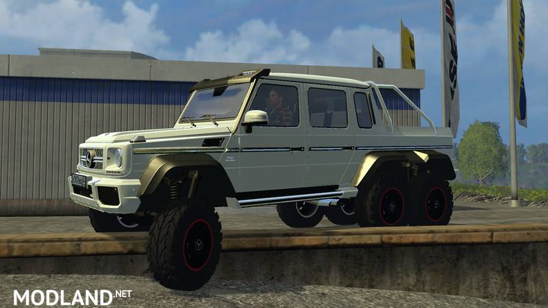 Mercedes Benz G65 AMG 6x6 mod for Farming Simulator 2015 ...