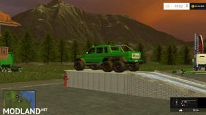 MERCEDES G65 AMG 6X6 Passion Paysage
