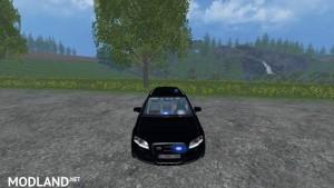 Audi A4 Belgium Police Car v 1.0 , 5 photo