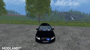 Audi A4 Belgium Police Car v 1.1 , 1 photo