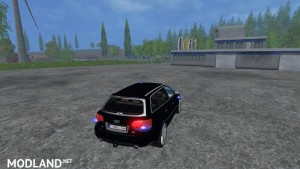 Audi A4 Belgium Police Car v 1.1 , 8 photo