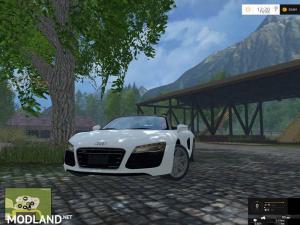 Audi R8 Spyder v 1.1 - External Download image