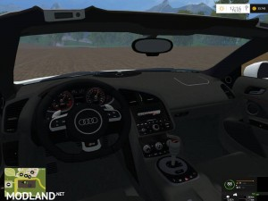 Audi R8 V10 Spyder, 11 photo