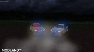 BMW NEF + BMW M5 (German Unmarked Police)