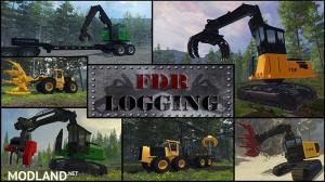 FDR Logging Machine Pack V + Bonus Northwest Logging Map, 1 photo