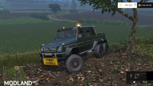 Mercedes G65 AMG 6x6 by KevinGaming60, 1 photo
