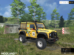 Land Rover Defender Dakar v 2.0, 1 photo