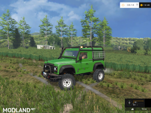 Land-Rover Defender 90 EA v 1.0, 4 photo