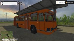 Bus 677 and LiAZ v3.0 module, 1 photo