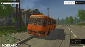 Bus 677 and LiAZ v3.0 module, 2 photo