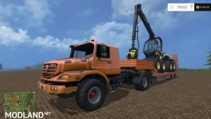 Mercedes Zetros Tractor v2.0, 11 photo