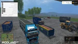 Volvo F12 HKL v 1.0 Multi Container, 2 photo