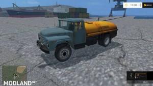 ZIL130 Fuel Truck v 1.0