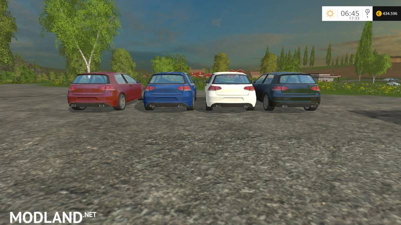 vw golf vii hgp power v 1 0 mod for farming simulator 2015. Black Bedroom Furniture Sets. Home Design Ideas