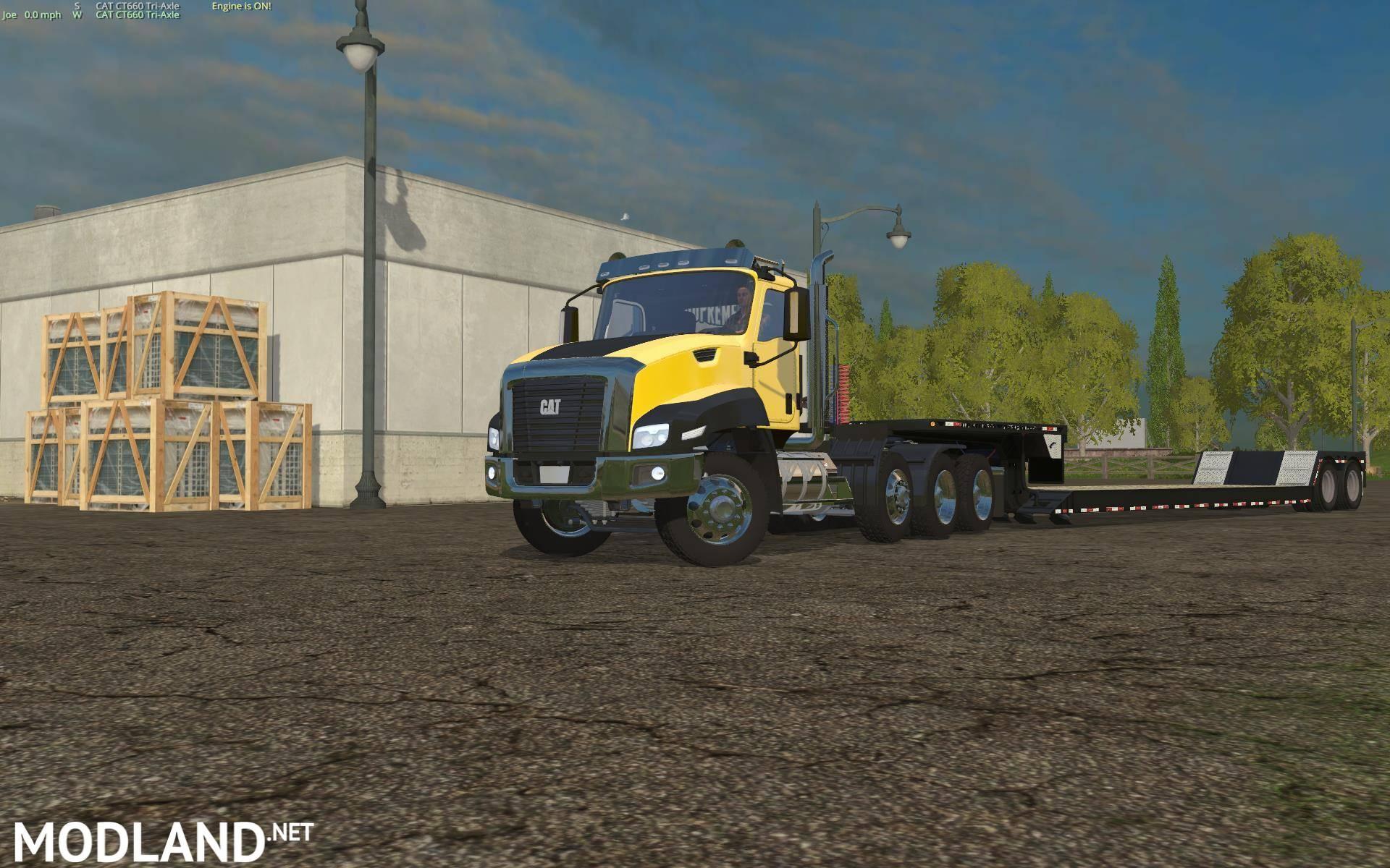 Cat Truck Mod v 3 0 mod for Farming Simulator 2015 / 15 | FS, LS