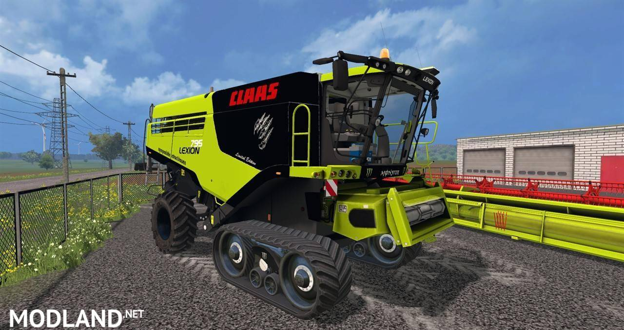 claas lexion 795 v 1 0 mod for farming simulator 2015 15 fs ls 2015 mod. Black Bedroom Furniture Sets. Home Design Ideas