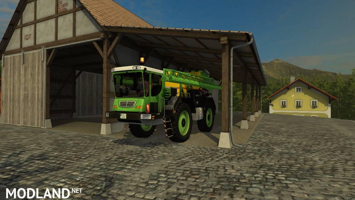 Lizard Self Propelled Sprayer v 1 0 mod for Farming Simulator 2015