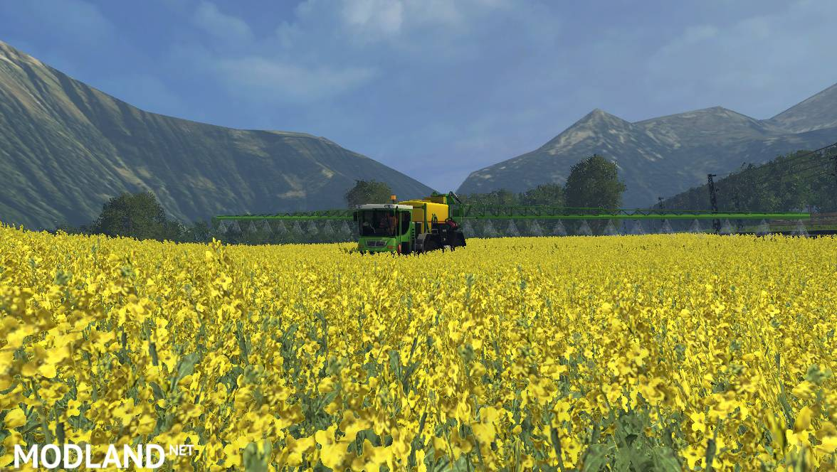Lizard Self Propelled Sprayer v 1 0 mod for Farming Simulator 2015