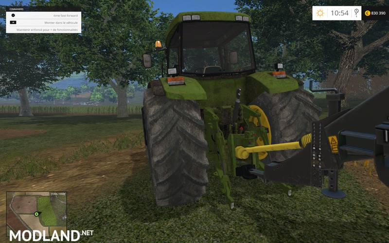 John deere 8410 mod for farming simulator 2015 15 fs for 8410 3