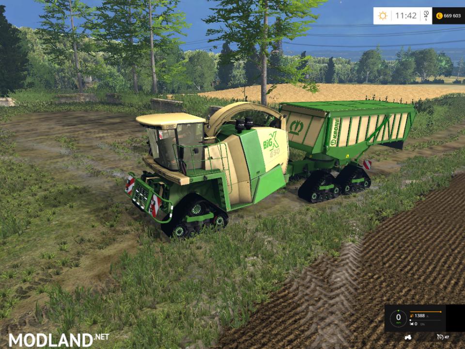 Krone BIG X 650 Cargo v 4.3b