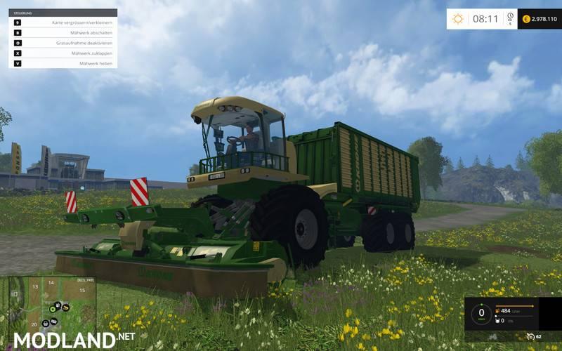 Krone BIG L500 Prototype v 1.0 APLHA