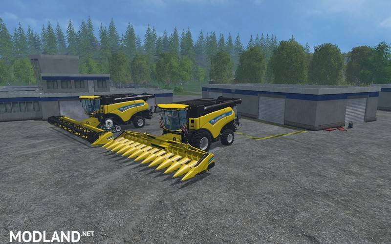 New Holland CR1090 Pack