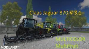 Claas Jaguar 870 MULTICOLOR v 3.1 Multifruit, 1 photo
