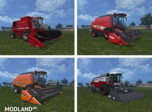 Harvesters Combines Mods Pack v 1.0, 2 photo