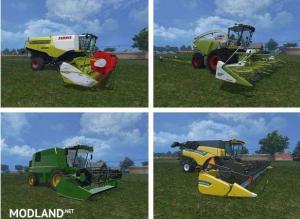 Harvesters Combines Mods Pack v 1.0, 1 photo