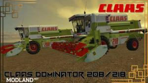 CLAAS DOMINATOR 208 & 218 v 1.0, 1 photo