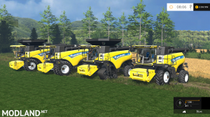 New Holland Combine CR v 1.3, 1 photo