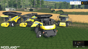 New Holland Combine CR v 1.3, 5 photo