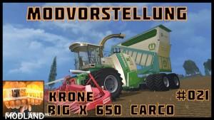 Krone BIG X 650 Cargo v 3.0 Beta, 6 photo