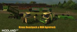 Krone BigX 1100 Beast Pack v 12.10 , 1 photo