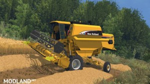 New Holland AL Pack - Autoleveling Combines v 1.0, 2 photo