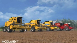 New Holland AL Pack - Autoleveling Combines v 1.0, 5 photo