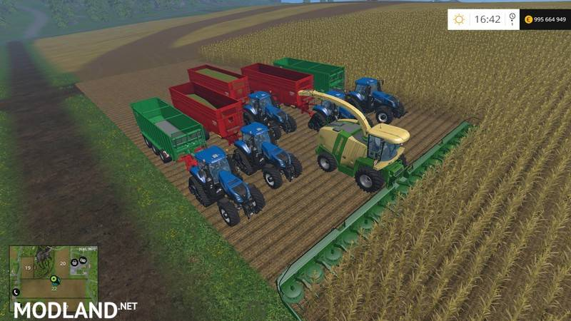 Kemper Cutter Study 2020 mod for Farming Simulator 2015 ...