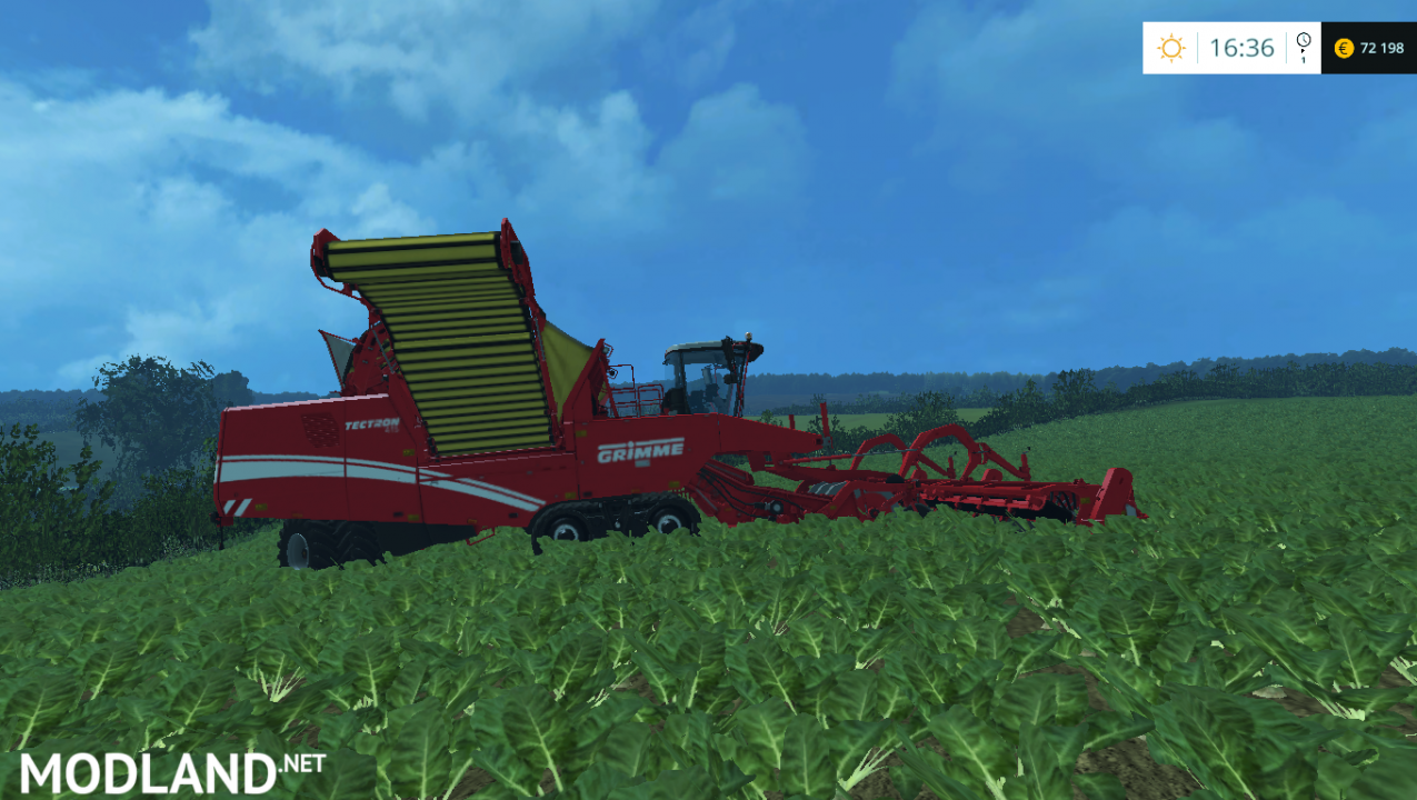 Grimme 620 oignon and carrot cutter