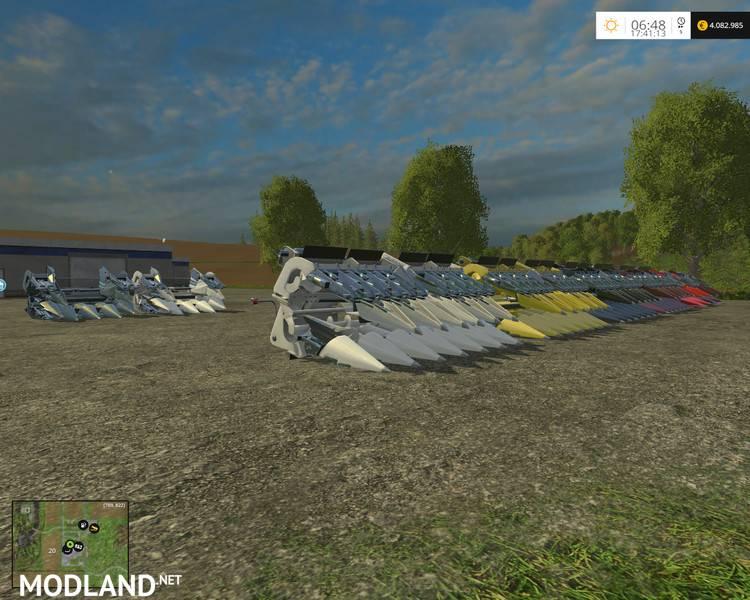 New Holland Maize Header Pack