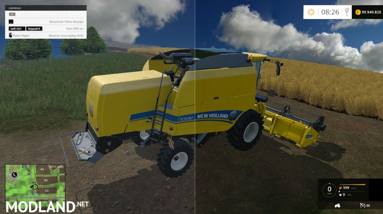 SweetFX improved graphics farming simulator 2015 mod for Farming