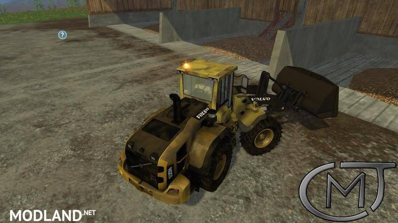 VOLVO L120H mod for Farming Simulator 2015 / 15 | FS, LS 2015 mod