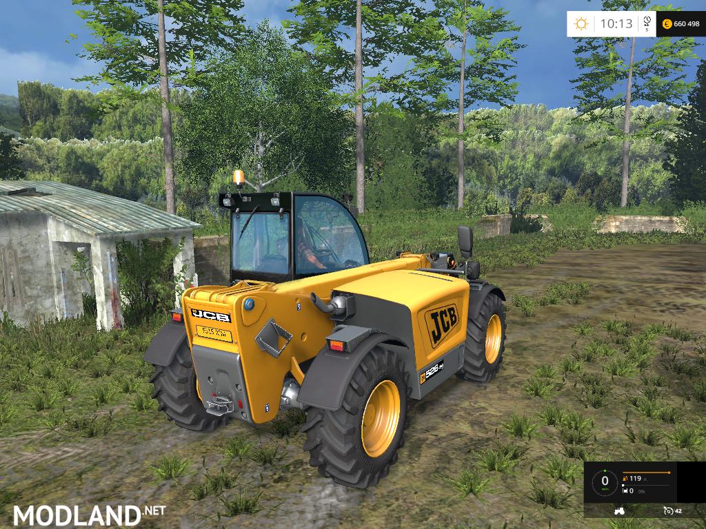 jcb 526 telehandler mod for farming simulator 2015 15. Black Bedroom Furniture Sets. Home Design Ideas