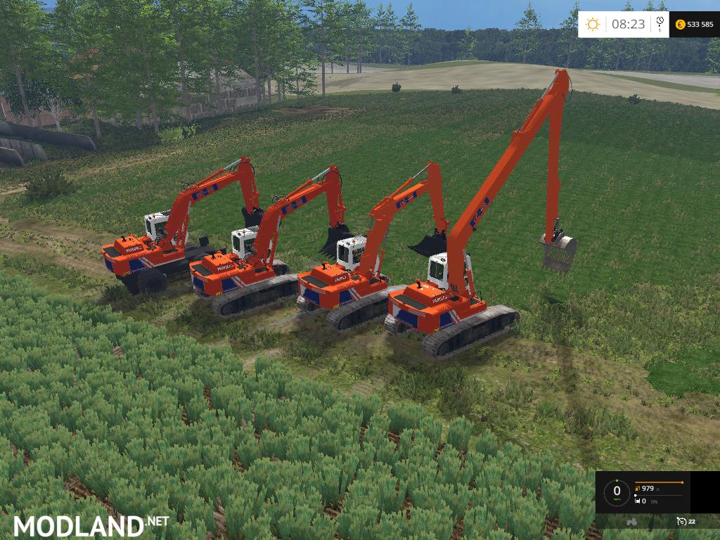 Hitachi Fh200 Pack Final V 1 0 Mod For Farming Simulator